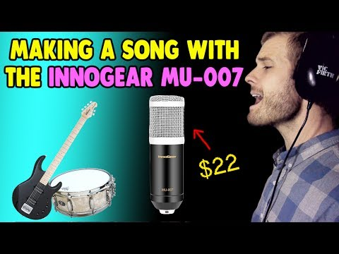 Making a Song with the Innogear MU-007 Microphone ($22)