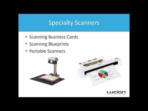 Choosing a Scanner That Meets Your Needs