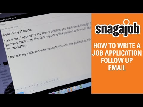 Job Interview Tips (Part 12): How To Write A Job Application Follow Up Email