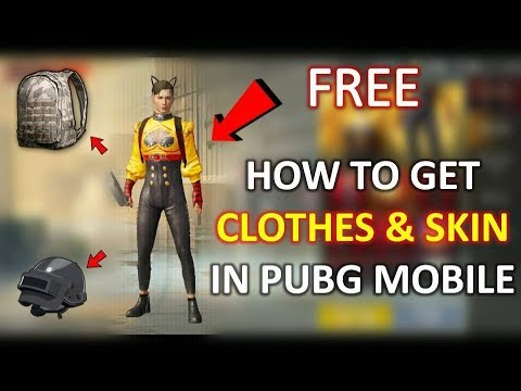 How to Remove Old Clothes and Get New Premium Clothes & Skin in PUBG Mobile