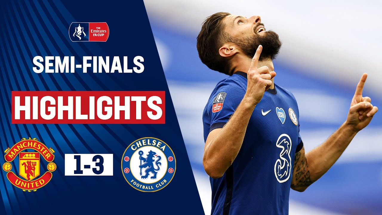Impressive Blues Power Past United   Manchester United 1-3 Chelsea   Emirates FA Cup 19/20