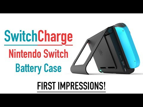 Nintendo Switch Portable Charger! (Switch Charge)