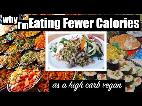 Why I'm Eating Fewer Calories as a High Carb Vegan - Weight Loss Series Extra