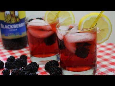 Blackberry Tom Collins Cocktail ~ Torani Friday ~ Noreen's Kitchen