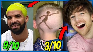 YouTuber With AWFUL Hair Reviews Bad Haircuts