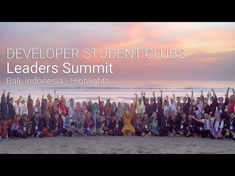 Developer Student Clubs Leaders Summit Highlights