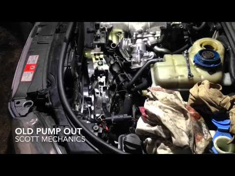 AUDI A4 noisy power steering pump replaced by Scott mechanics