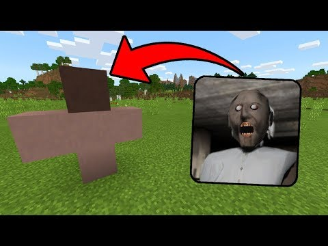 How To Spawn GRANNY in Minecraft Pocket Edition (Granny Horror in Minecraft PE)