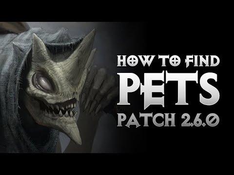 Diablo 3 - HOW TO FIND PETS IN SEASON 11 - MENAGERIST GOBLIN FARMING - PWilhelm