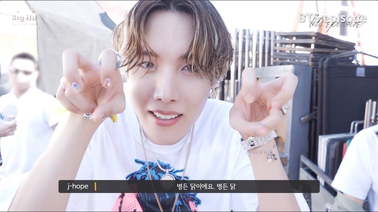 [EPISODE] j-hope 'Chicken Noodle Soup (feat. Becky G)' MV Shooting Sketch