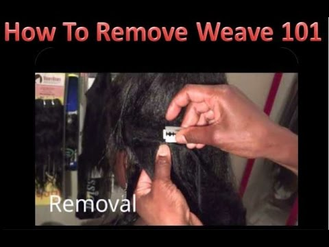 Weave Removal-You Been Doing It Wrong