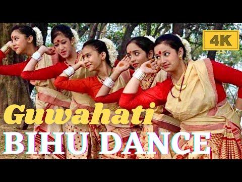 Bihu Folk Dance Assam India in 4K - Elegant, Graceful, Joyous