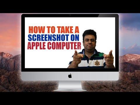 How to take a Screenshot on Apple Computer 2017