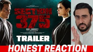 Section 375 Official Trailer Reaction | Akshaye Khanna | Richa Chadha
