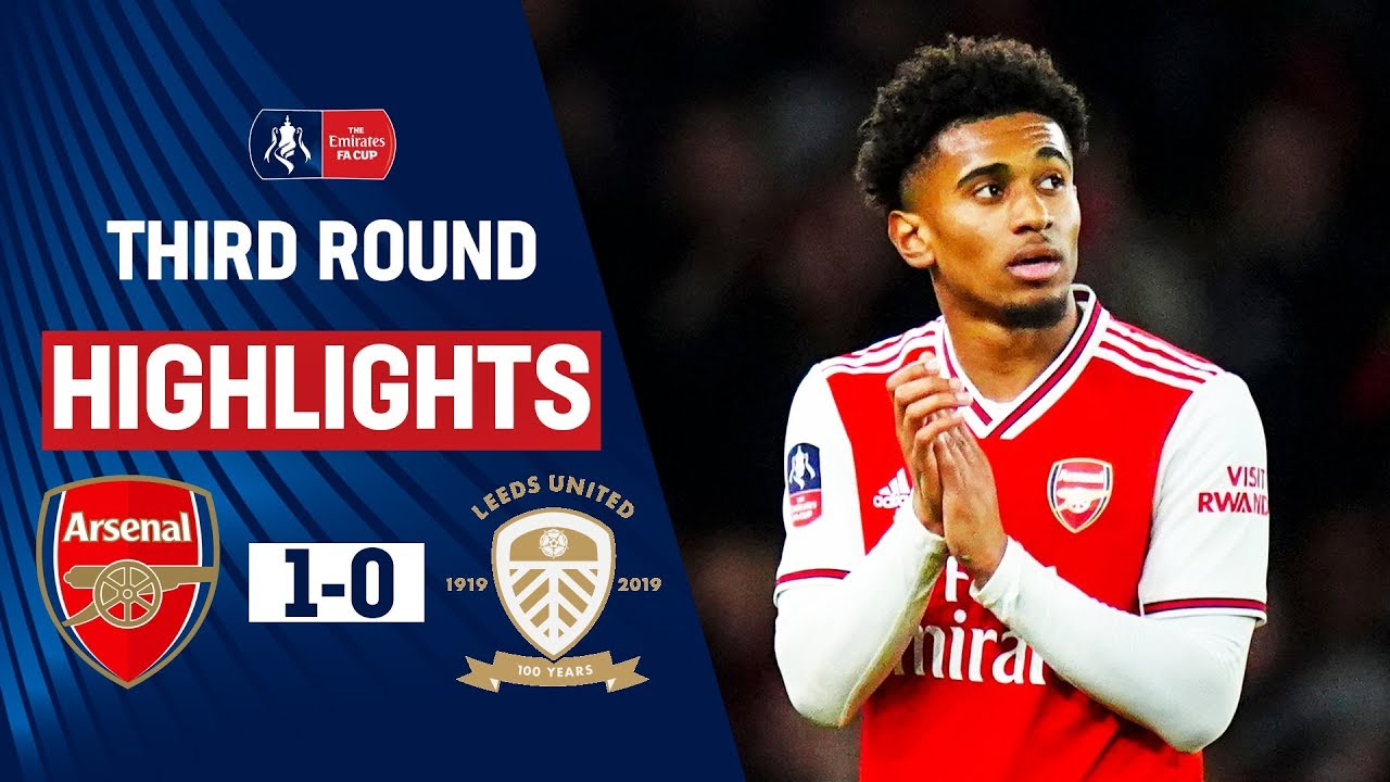 Gunners Survive Leeds Threat with Nelson on Target   Arsenal 1-0 Leeds    Emirates FA Cup 19/20
