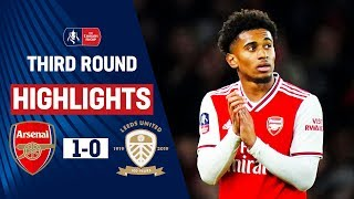Gunners Survive Leeds Threat with Nelson on Target | Arsenal 1-0 Leeds  | Emirates FA Cup 19/20