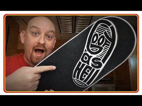 Custom Grip Tape GOOFY AS HELL! How To Make Your Own Custom Grip Tape Design