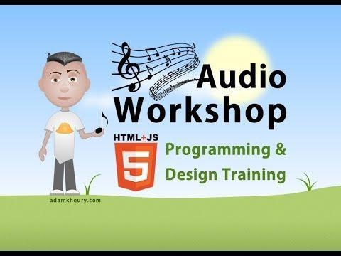 Audio Workshop 3 timeupdate Time Position JavaScript Tutorial