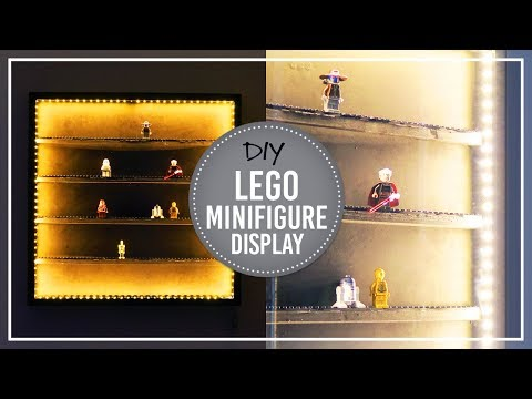 DIY Lego Minifigure Display | IKEA hack