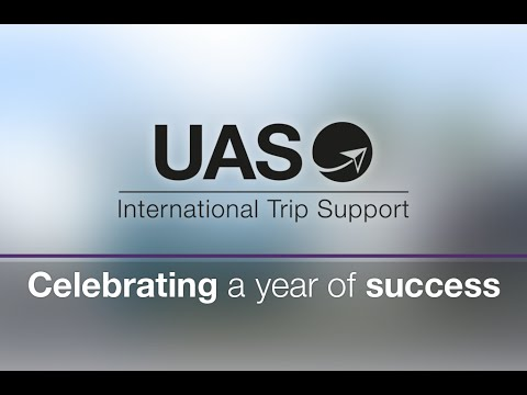 Celebrating a year of success at UAS international Trip Support