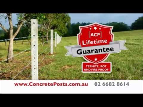 Fence it once, Fence it Right With Australian Concrete Fence Posts