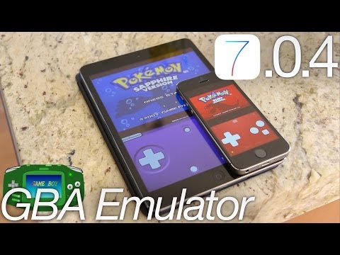 NEW Install GBA Emulator Without iOS 7.0.4 Jailbreak FREE Gba4iOS 2.0  iPhone 5S,iPod iPad & Roms