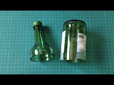 How To Cut Glass Bottles At Home | The Easiest Way