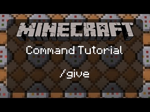 Using Commands in Minecraft: /give and an Introduction to Target Selector Variables | 1.11.2