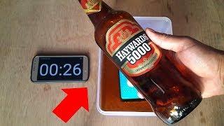 WOW EXPERIMENT - Samsung Galaxy S9 Plus vs HAYWARDS 5000
