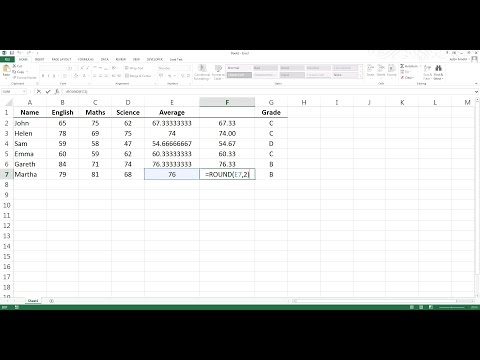 Decimal Places  How To Round Numbers In Excel