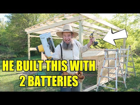 DEWALT BATTERY TOOLS - BUILD TEST!