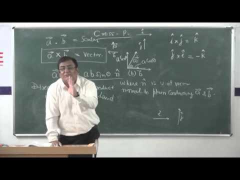 XI-7.2.Vector Product (2014) Pradeep Kshetrapal Physics