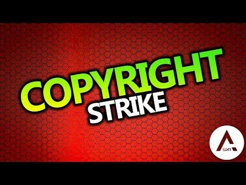 Copyright Strike!