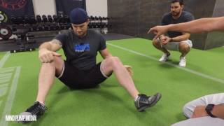90:90 Hip Mobility + FRC Isometric Contractions (PAILS and RAILS