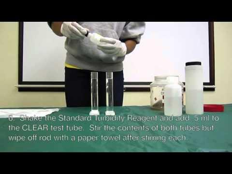 Turbidity Water Quality Test