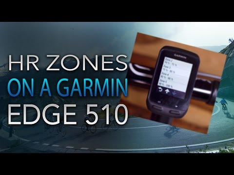 How to Define and Use Heart Rate Zones on A Garmin Edge 510