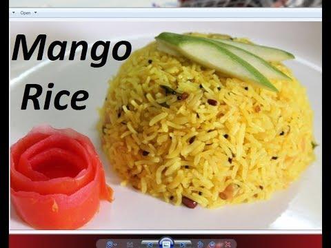 चटपटे कच्ची कैरी राइस /Mango Rice recipe by Raks HomeKitchen