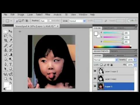 Photoshop Tricks : How to Create a Multilayer Stencil in Photoshop