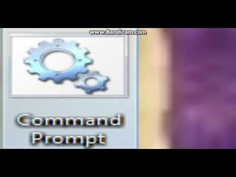 How To Open Command Prompt Using Notepad