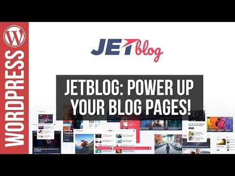 Build Custom Wordpress Blog Layouts with Jetblog for Elementor
