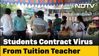 Covid-19 News: 14 Andhra Students Contracted Covid From Tuition Teacher: Officials