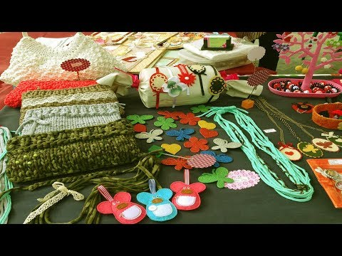 Small Business Ideas - Handicraft Items Making Home Business Ideas for Women