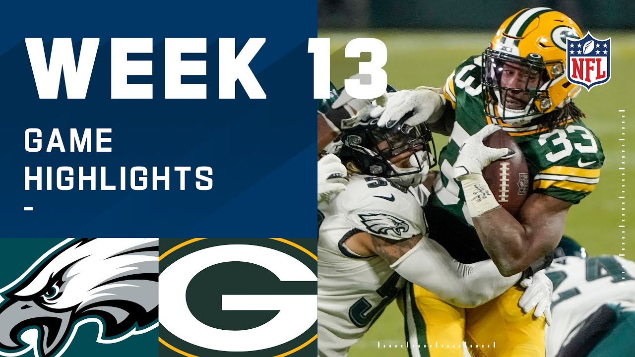 Eagles vs. Packers Week 13 Highlights   NFL 2020