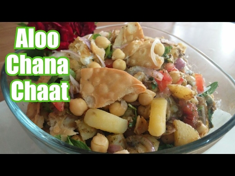✅Tasty Aloo Chana Chaat Recipe by ❤Cooking with Asifa❤ yt_vid-138