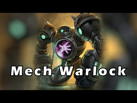 Hearthstone - Playing Against an Awesome Mech Warlock
