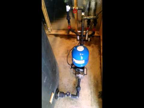 Installing Duramac pump.
