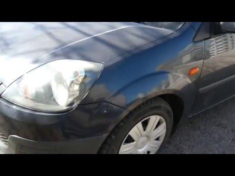 Ford Fiesta Mk6- Hazy headlight restoration