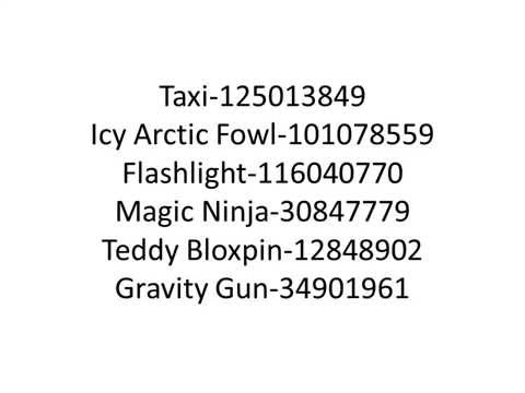Roblox gear codes for kohls admin house ALL NEW 2014