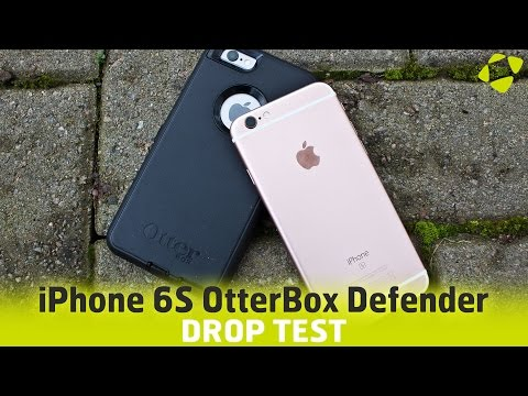 iPhone 6S OtterBox Defender Drop Test & Case Review