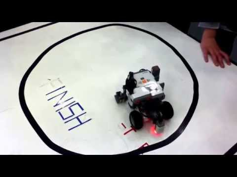 NXT Lego Mindstorms: NXT 2.1 : Staying Inside The Circle